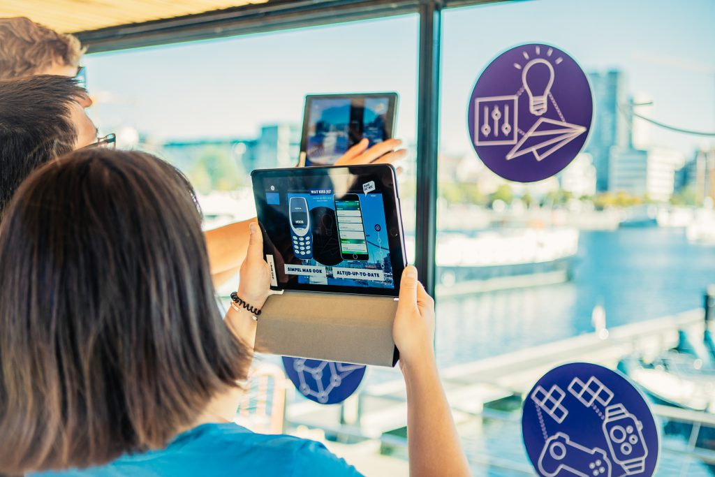 Using Augmented Reality for Events
